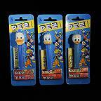 3 Donald Duck Family Disney Pez Dispensers