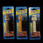 Three Star Wars Pez Dispensers