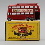 Lesney Matchbox 56A London Trolley Bus 1958 GPW