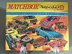 Lesney Matchbox  Superfast 1970 USA Catalog Catalogue