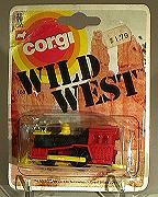 Corgi 108 Wild West Railroad Locomotive diecast toy