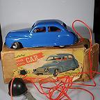 Chad Valley Vintage Pressed Steel Wind-up Car