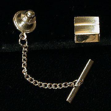 Sarah Coventry Varsity Goldtone Tie Tack