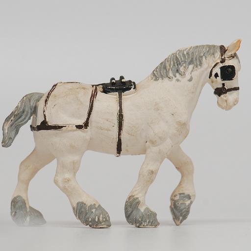 Britains Cart Horse - Plastic 1972