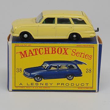 Vintage Matchbox 38b Vauxhall Victor Estate Car