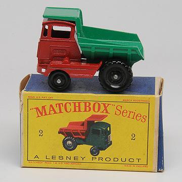 Matchbox 2c Muir Hill Dumper 1961