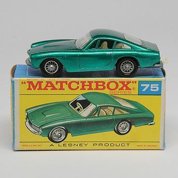 Vintage Lesney Matchbox 75b Ferrari Berlinetta MIMB