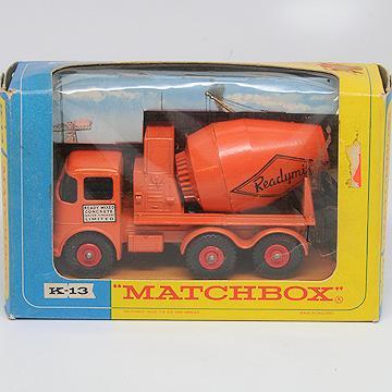 Matchbox KingSize K-15 Ready-Mix Concrete Truck 1963-70 Mint in Box
