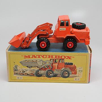 Matchbox King Size K3 Hatra Tractor Shovel
