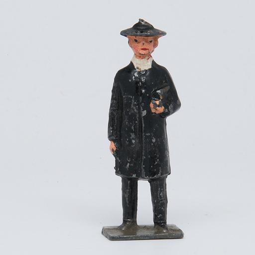 Hollowcast Lead Clergyman Made in England