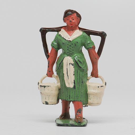 John Hill Johillco Milk Maid Hollowcast  Lead Figure