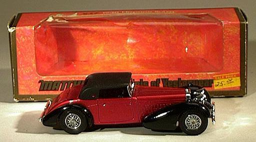 Matchbox Yestertear  Y17-1 Version  1 1938 Hispano Suiza