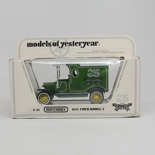 Matchbox Y12 1912 Ford Model T Van - MOY 25th Anniversary