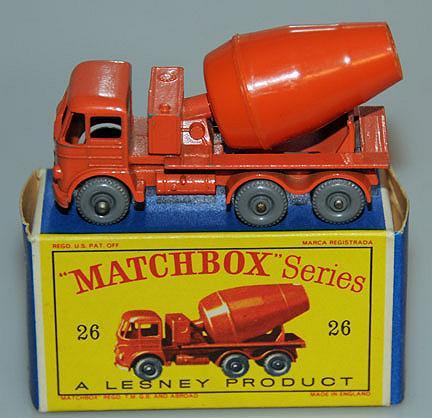 Matchbox  26B Foden Cement Lorry GPW