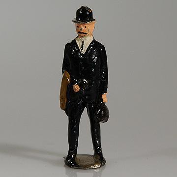 John Hill Co Johillco Lead Hollowcast  Gentleman Passenger #221
