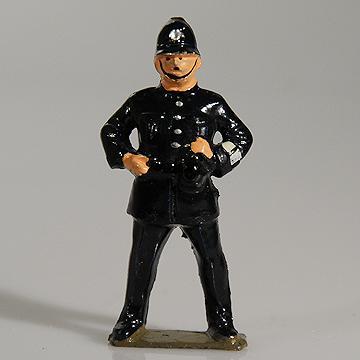 John Hill Co Johillco Lead Hollowcast Policeman 60mm