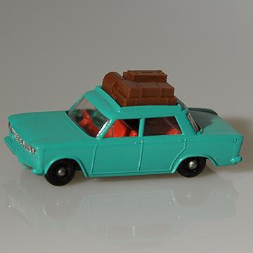Vintage Lesney Matchbox #56B Fiat 1500 BPW Issued 1965