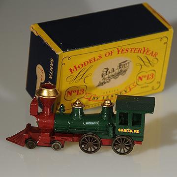 Lesney Matchbox Yesteryear Y13-1 Santa Fe Locomotive