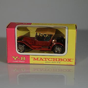 Matchbox Yesteryear  Y8-3 1914 Stutz