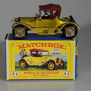 Matchbox Yesteryear  Y6-3 1913 Cadillac