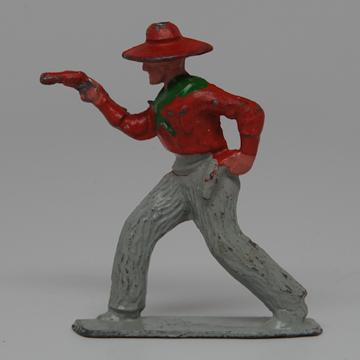 Johillco Lead Cowboy with Pistol