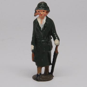 Rare Johillco  Lady Passenger with Umbrella